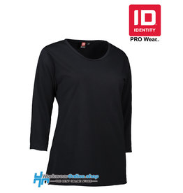 Identity Workwear ID Identity 0313 Pro Wear 3/4 sleeve Ladies T-shirt
