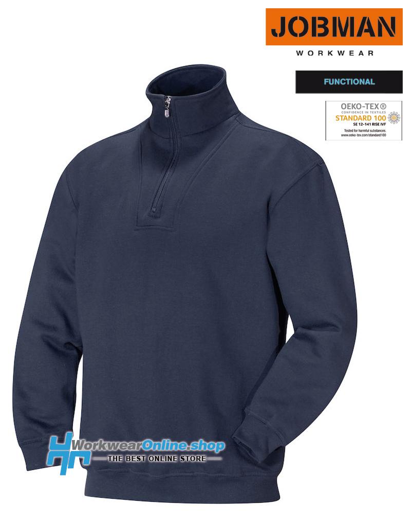 Jobman Workwear Jobman Workwear 5500 Halfzip Sweatshirt