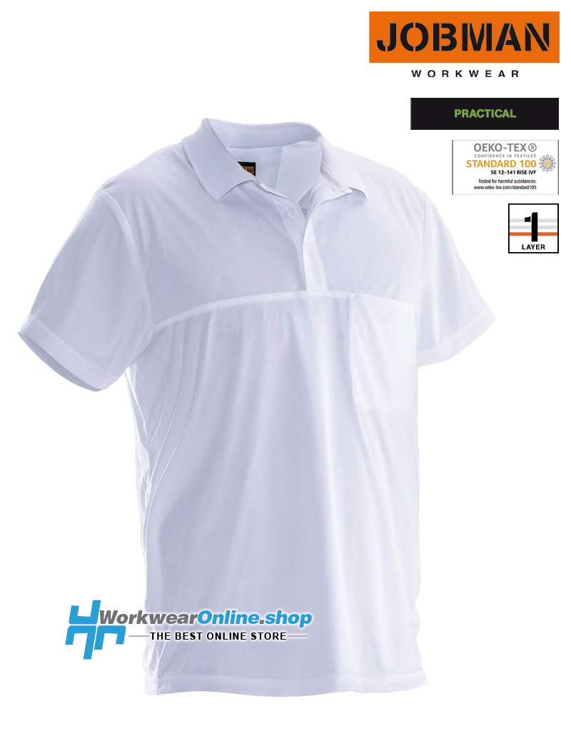 Jobman Workwear Jobman Workwear 5533 Polo Spun Dye
