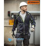 Jobman Workwear Jobman Workwear 5150 Hoodie Vision Lite