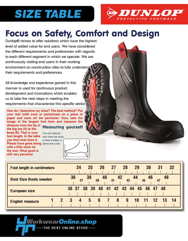 Dunlop Safety Boots Dunlop A442031