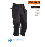 Jobman Workwear Jobman Workwear 2195 [driekwart] Stretch Long Shorts HP
