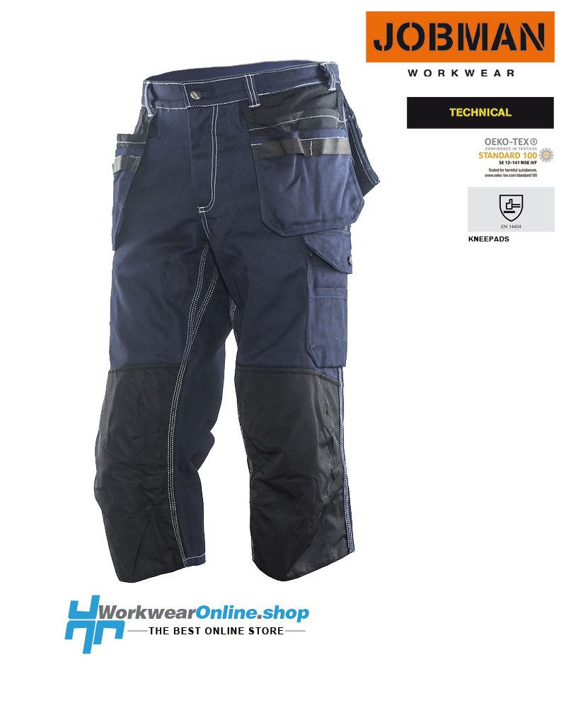 Jobman Workwear Jobman Workwear 2290 [three-quarter] Long Shorts Cotton HP