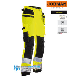 Jobman Workwear Jobman Workwear 2272 HI-VIS Pantalón de trabajo para mujer Star HP
