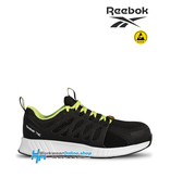 Reebok Work Reebok Fusion Flexweave Work 1073 Black / Lime S1P ESD