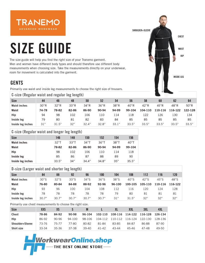 Tranemo Workwear Tranemo Workwear 5674-87 Magma Overhemd