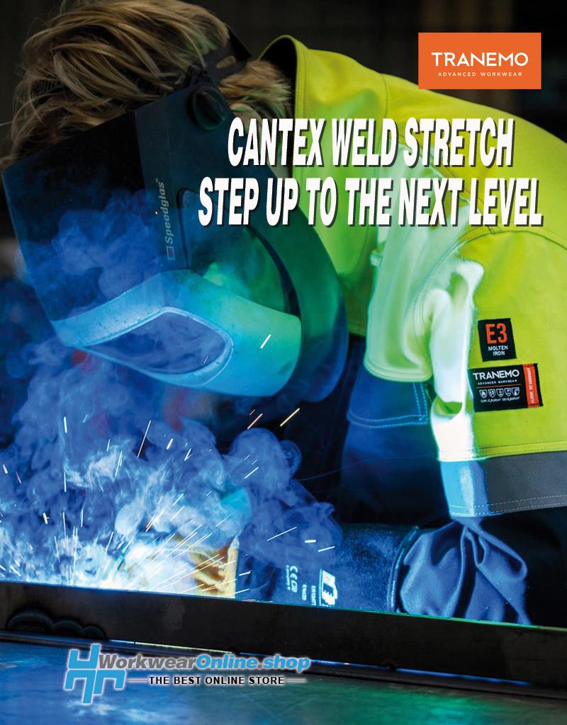Tranemo Workwear Tranemo Workwear 5035-88 Cantex Weld Stretch Work Jacket