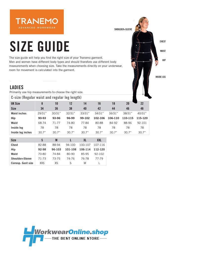 Tranemo Workwear Tranemo Workwear 5027-88 Cantex Weld Stretch Women's Work Trousers