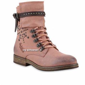 Biker boots Rome - Roze