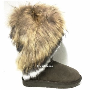Warme Boots Eskimo  - Groen
