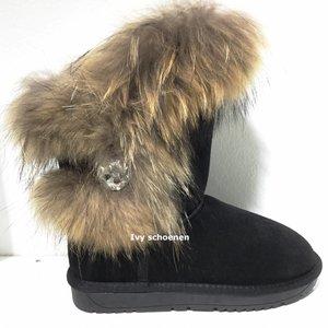 Warme Boots Toronto  - Zwart