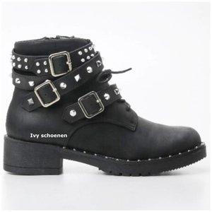 Boots JOSE -Zwart