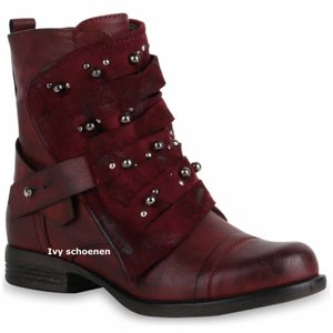 Boots Walles -Rood