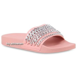 Slippers CHAINS - Roze