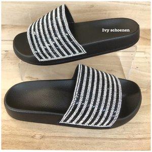 Slippers CATHY - Zwart
