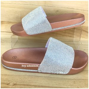 Slippers DIAMONDS LUX- Champagne