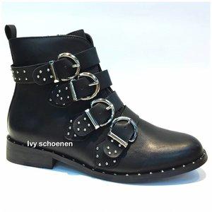 Boots JANICE - Zwart