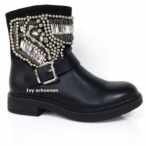 Boots TOSCANA - Zwart