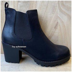 Boots CLASSY Deluxe - Zwart