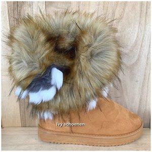 Boots WINTER - Camel