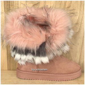 Boots WINTER - Roze