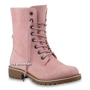 Boots JIMBO - Roze