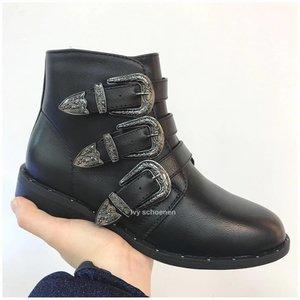 Boots DAKOTA - Zwart