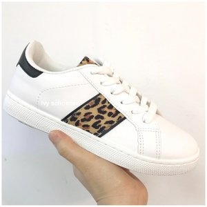 Sneakers TANJA - Wit/ Panter