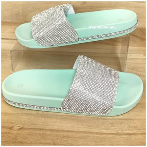 Slippers BRAM - Mint Groen