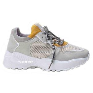 Sneaker ROCCO – Geel/Grijs