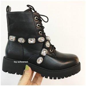 Boots WAYNE - Zwart