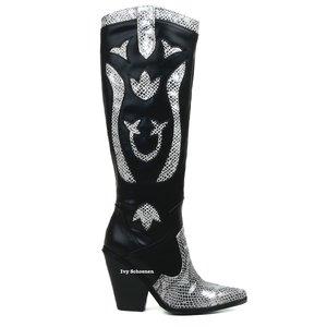 Boots PETA DELUXE - Zwart