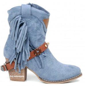 Boots LEVI - Blauw