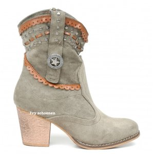 Boots MILAN - Groen