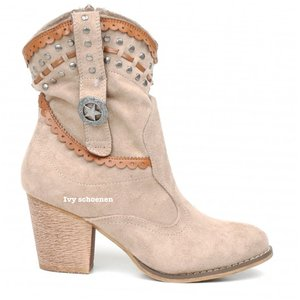 Boots MILAN - Taupe/Beige