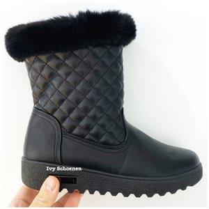 Boots LUUK - Zwart