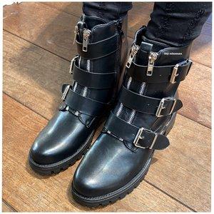Boots MONDAY - Zwart