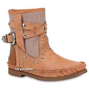 Boots IBIZA LUISA - Zalm/Roze