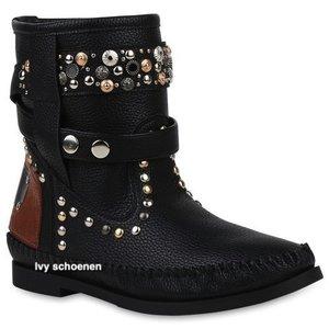 Boots IBIZA FIORE - Zwart