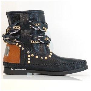Boots IBIZA JUNE - Zwart
