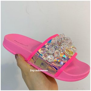 Slippers VIRGIL - Fuxia/Roze