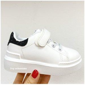 Sneaker FIENTJE - Wit/Zwart