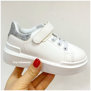 Sneaker FIENTJE - Wit/Zilver