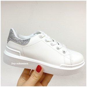 Sneaker FIEN - Wit/Zilver