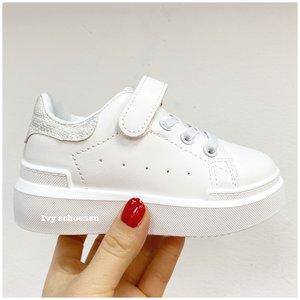 Sneaker FEMMY- Wit/Zilver