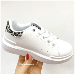 Sneaker MIEN - Wit/Panter