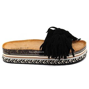 Slippers JUNO - Zwart