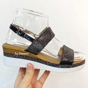 Slippers SABINE - Zwart