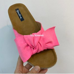 Slippers PERCY - Fuxia