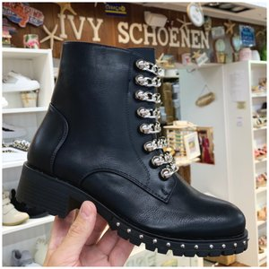 Boots CHANO - Zwart/Zilver